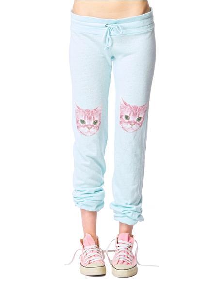 Party Cat Malibu Skinny Sweat Pants