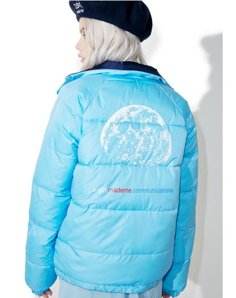 x X-Girl Reversible Puffy jacket