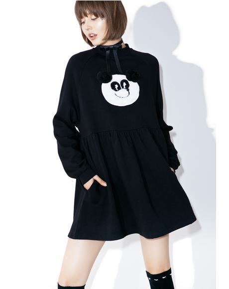 Panda Sweater Dress
