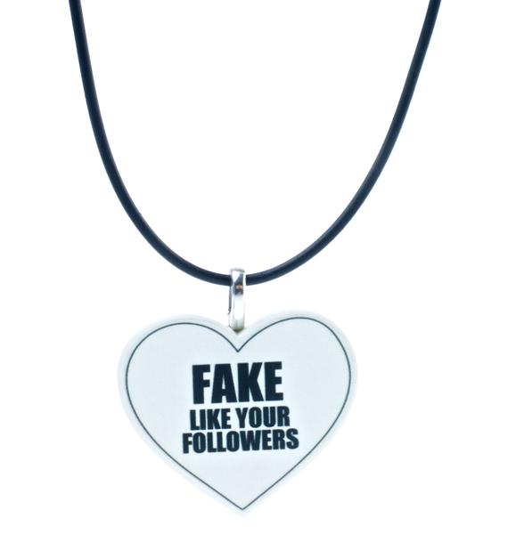 Twisted Bitches Fake Followers Choker