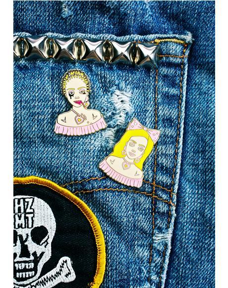 Barbie Stylist Pin Set