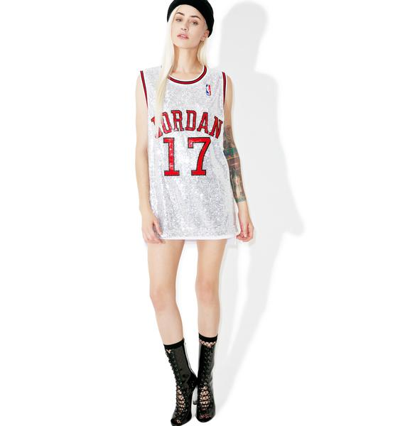 Her Airness Sequin Jersey