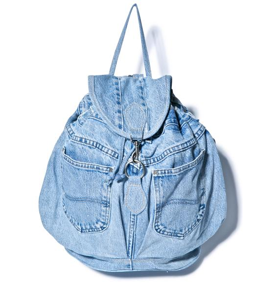 My So Called Denim Backpack