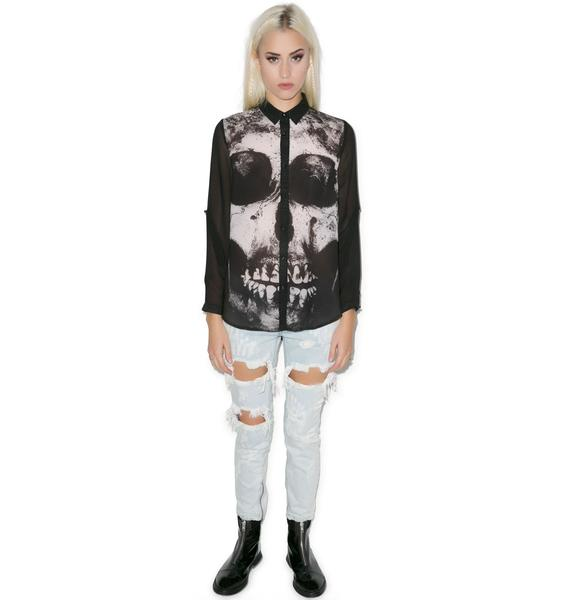 Iron Fist Loose Tooth Blouse