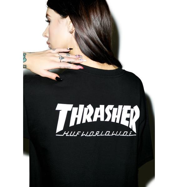 HUF X Thrasher Classic H Tee