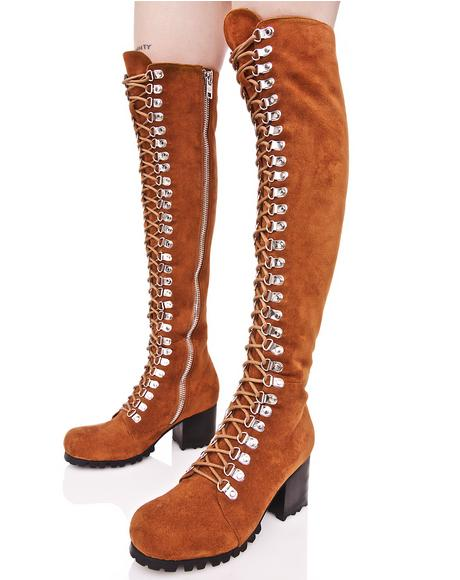 Rust Willow Boots