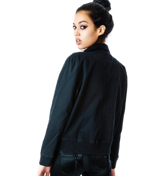 UNIF Like A Prayer Bomber Jacket