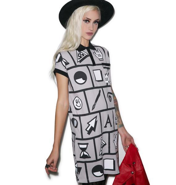 Lazy Oaf Tool Polo Dress
