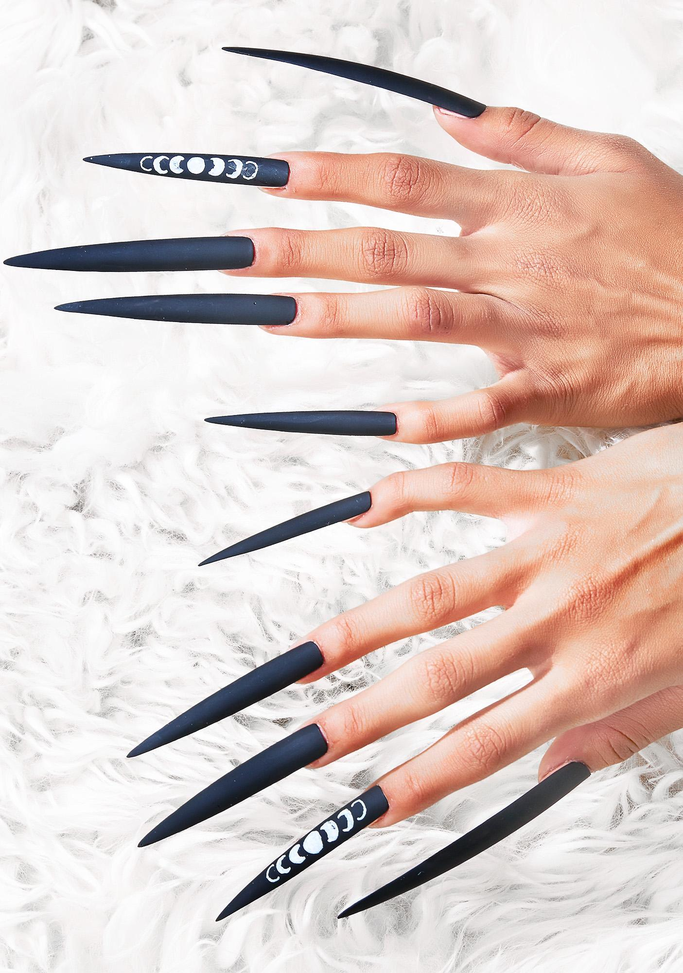 Rave Nailz XXXtra Long Moon Phase Nails