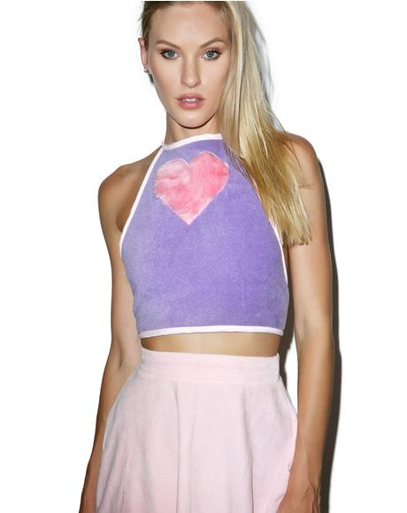 Feel Da Pulse Furry Halter