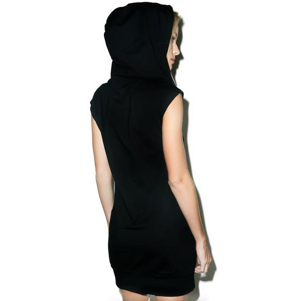 Undefeated Champ Is Here Hooded Dress