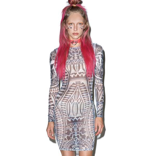 Inked Up Tattoo Dress