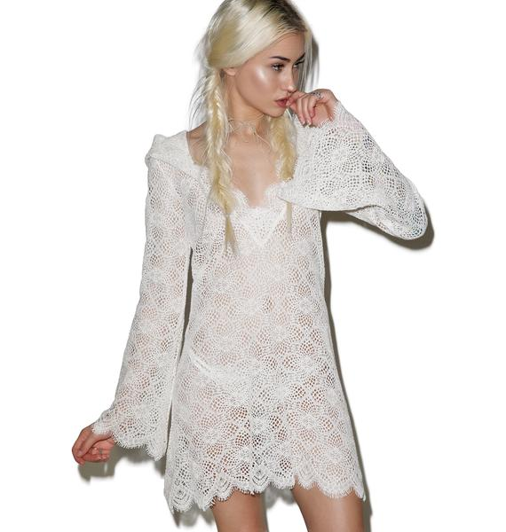 For Love & Lemons Cannes Beach Coverup