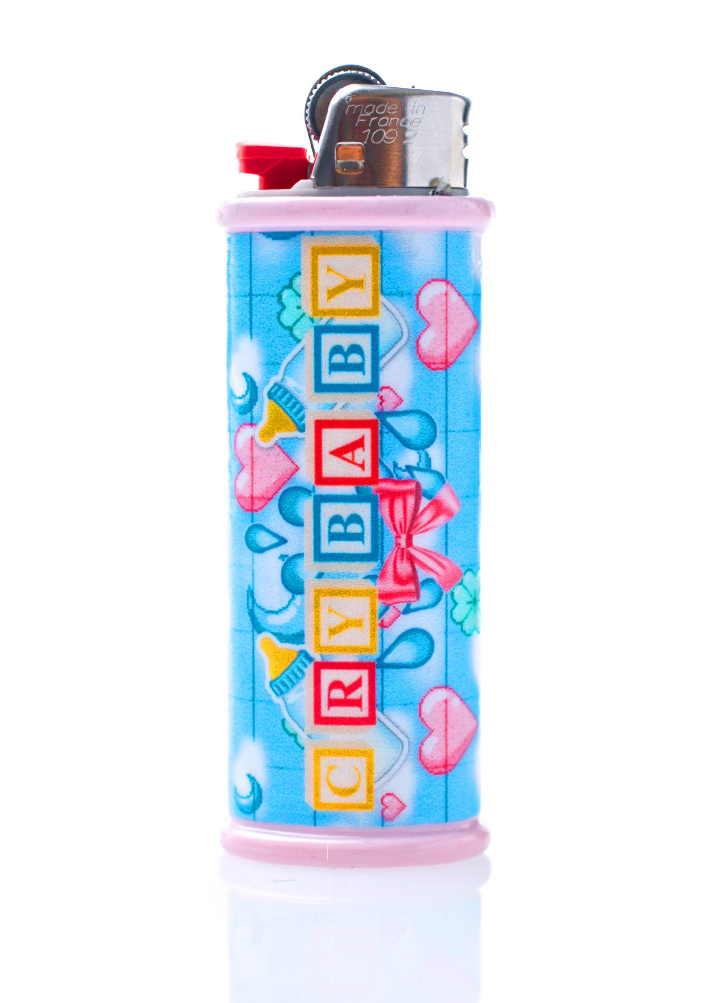 My Bubblegum Fantasy Crybaby Lighter Case
