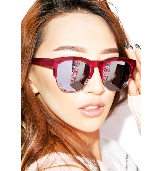 Wildfox Couture Club Fox Deluxe Sunglasses
