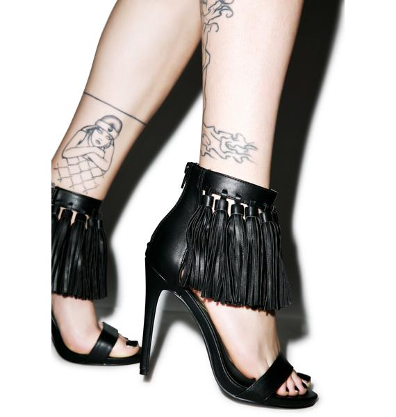 Privileged Eila Tassel Fringe Heels