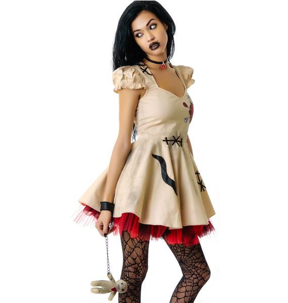 Lip Service Voodoo Doll Costume