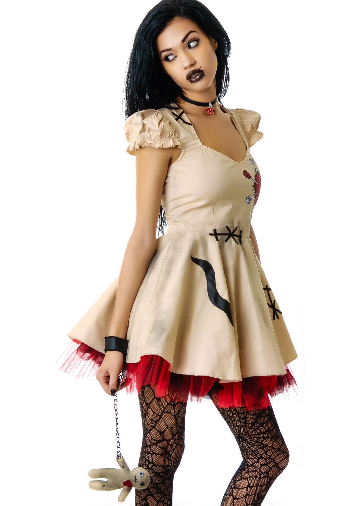 black voodoo doll costume - photo #2