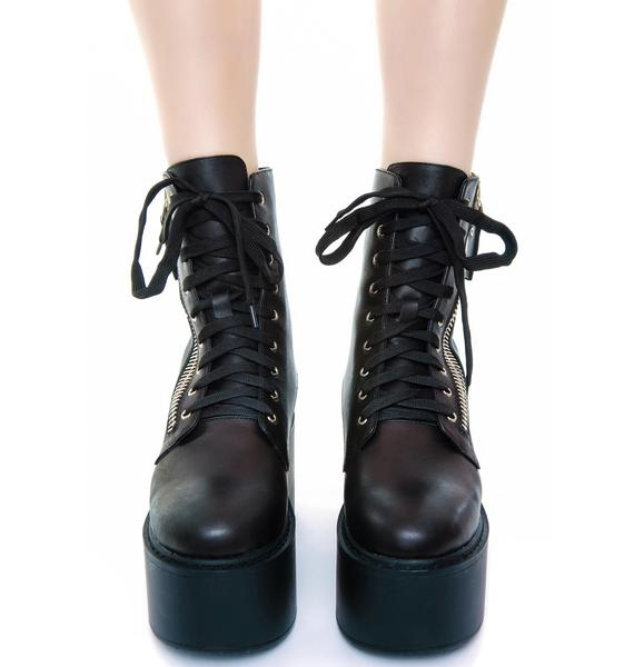 UNIF Trench High Boot