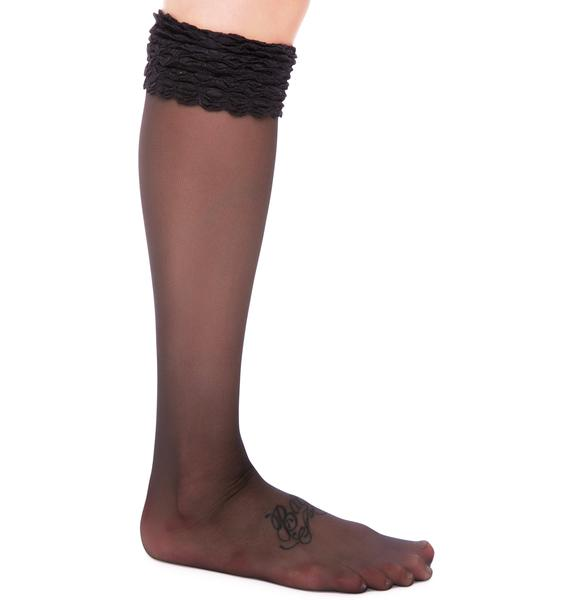 Pretty Polly Pretty Polly x Alice & Olivia Knee Highs