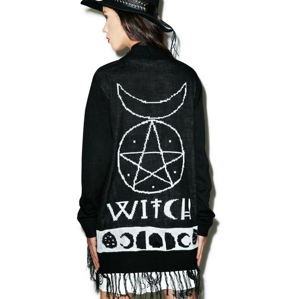 What A Witch Cardigan