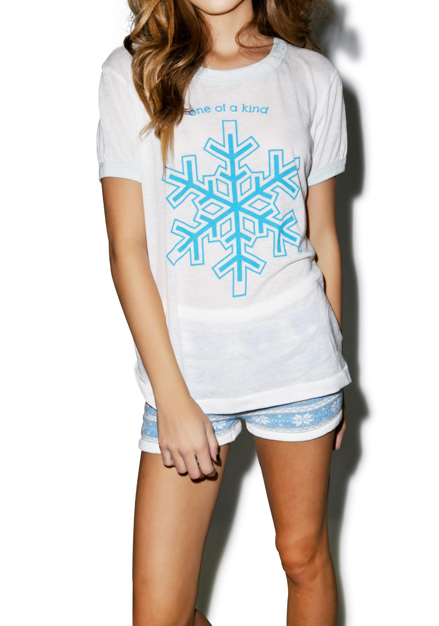 Wildfox Couture One Of A Kind Vintage Ringer Tee