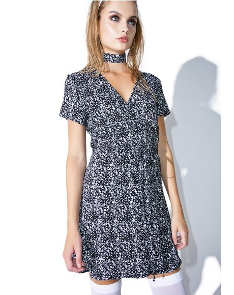 X Dolls Kill Coppola Wrap Dress