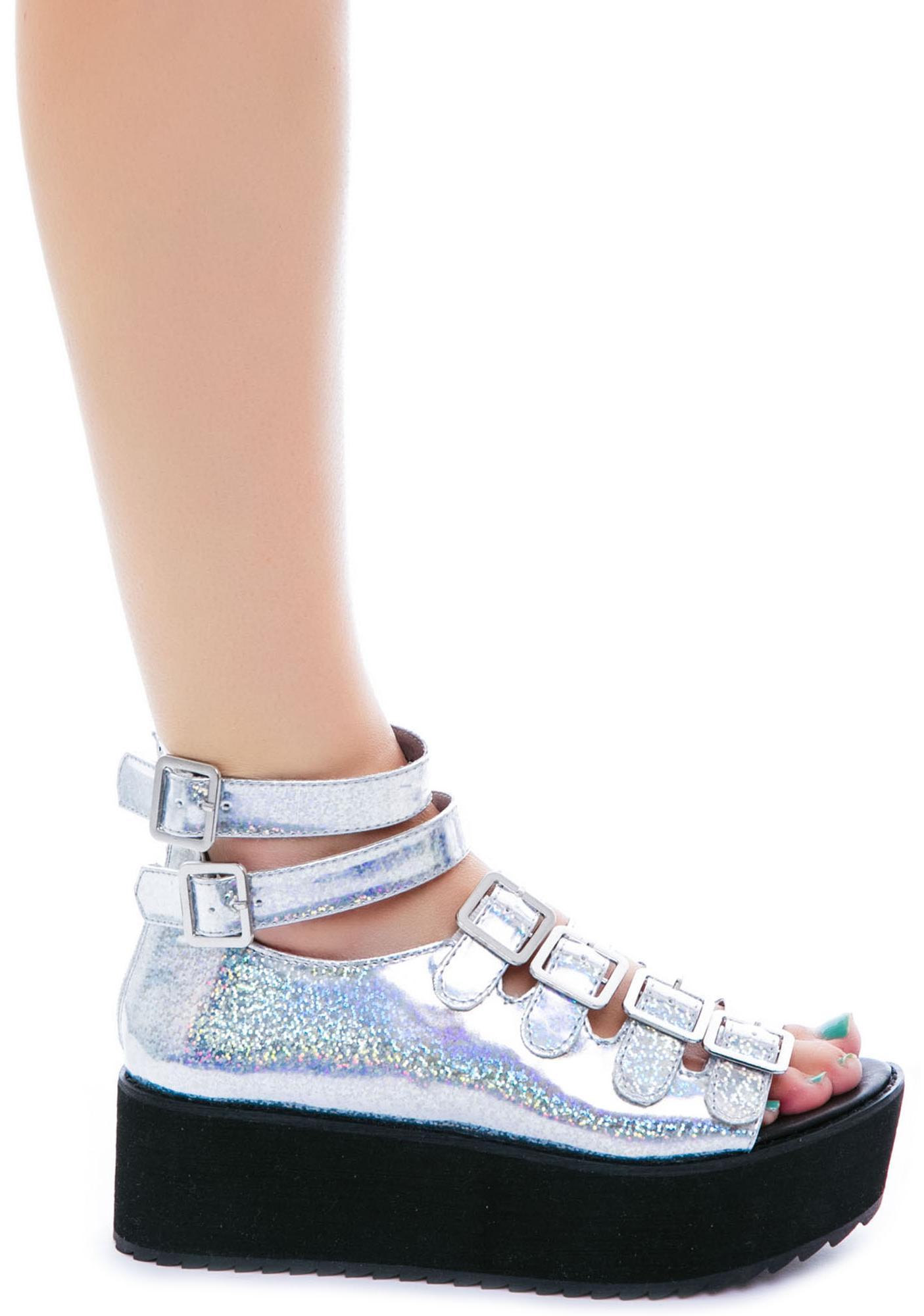 Y.R.U. Mirage Flatform Sandal