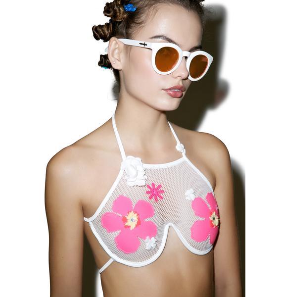Lee + Lani The Hibiscus Top
