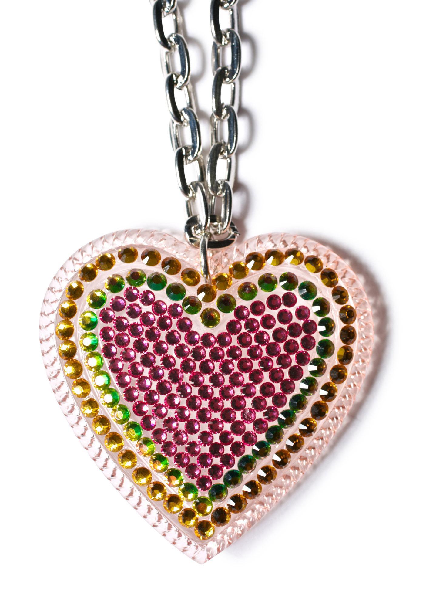 Tarina Tarantino Parlour Heart Pendant Necklace