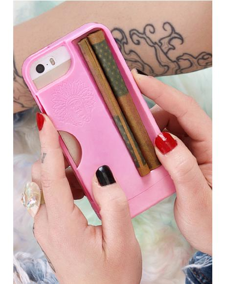 Pink Rolling Tray iPhone 5/5S Case