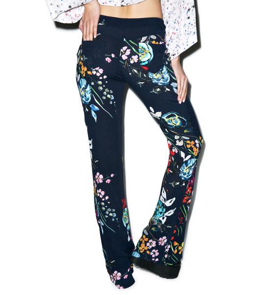 Somedays Lovin Epiphany Floral Flare Pants