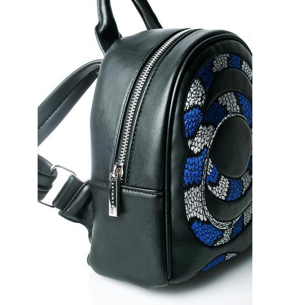 Skinnydip Snake Mini Backpack