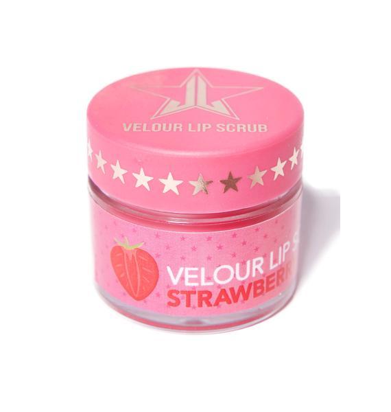 Jeffree Star Strawberry Gum Velour Lip Scrub