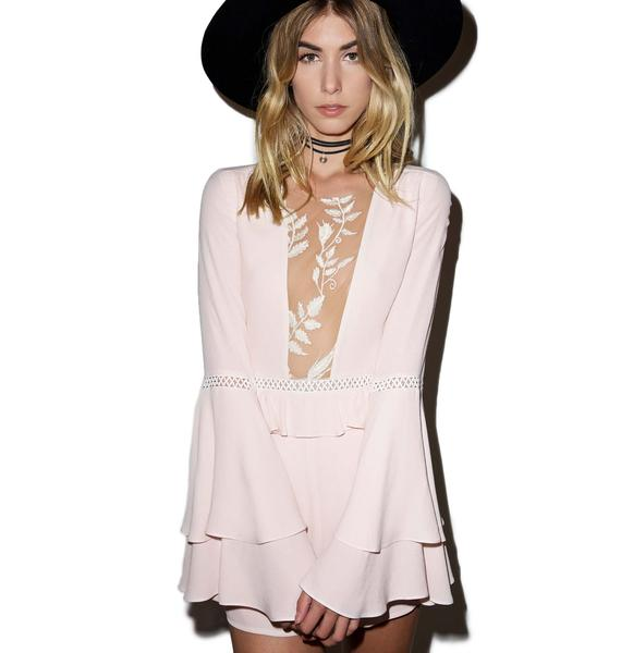 For Love & Lemons Emelia Romper