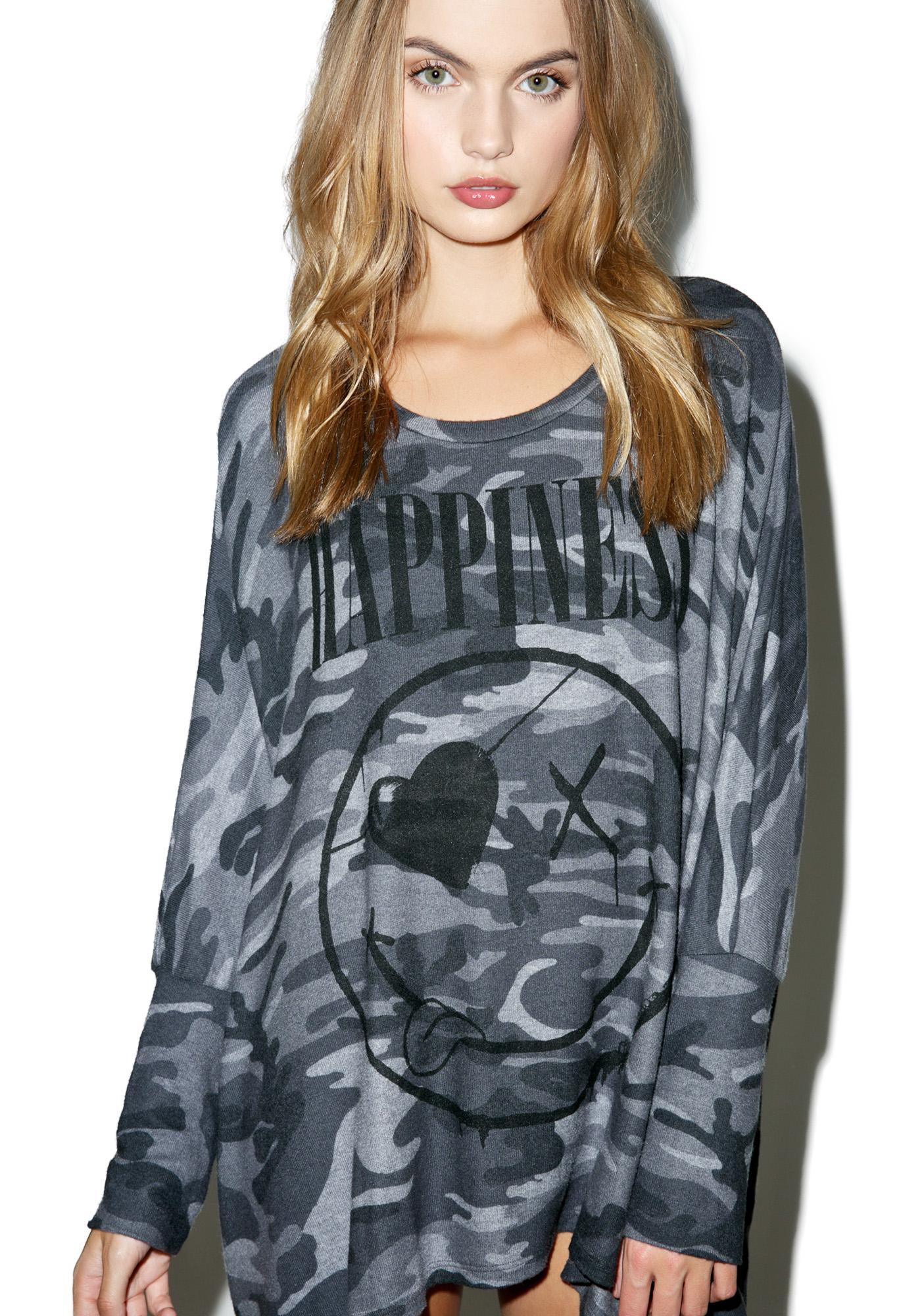 Lauren Moshi Mira Unhappiness Pullover