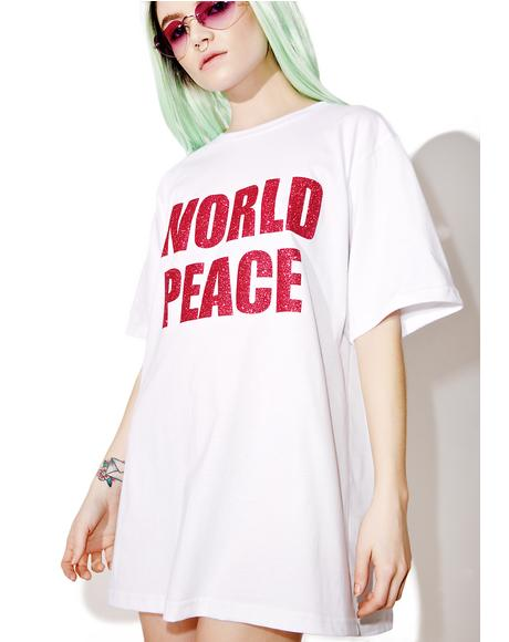 World Peace Oversized Tee