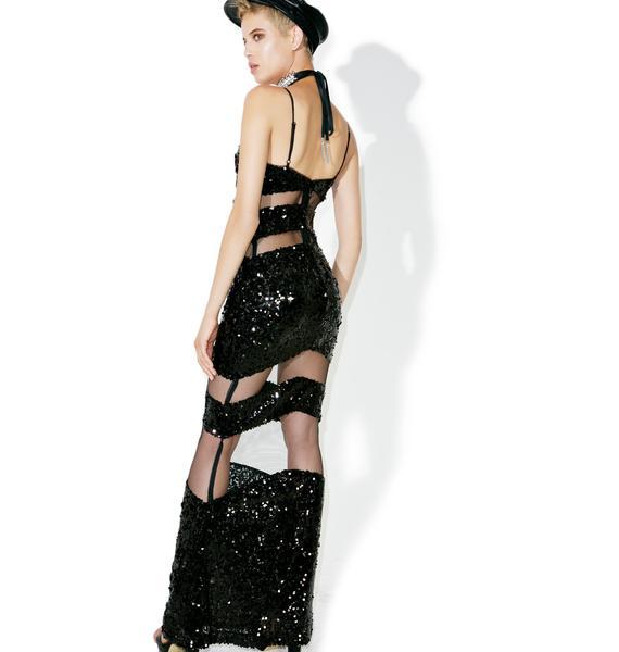 Heat Wave Sequin Maxi Dress