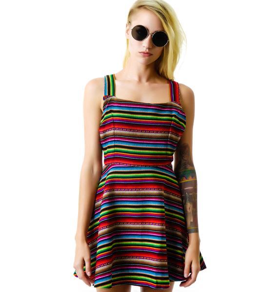 For Love & Lemons New Mexico Mini Dress