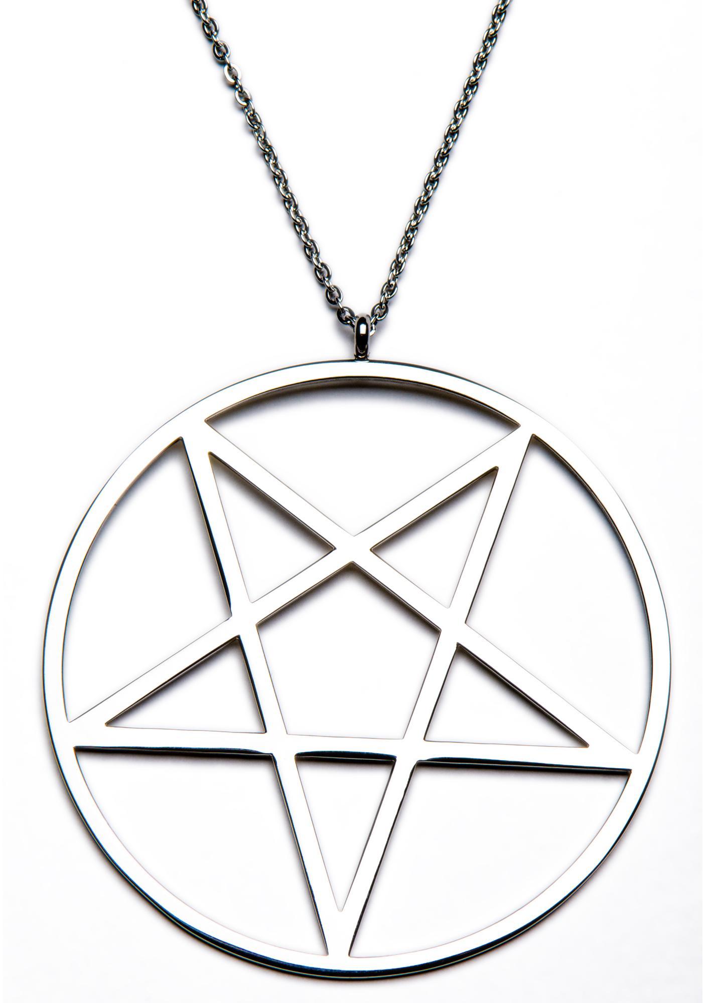 Killstar Pentagram Necklace