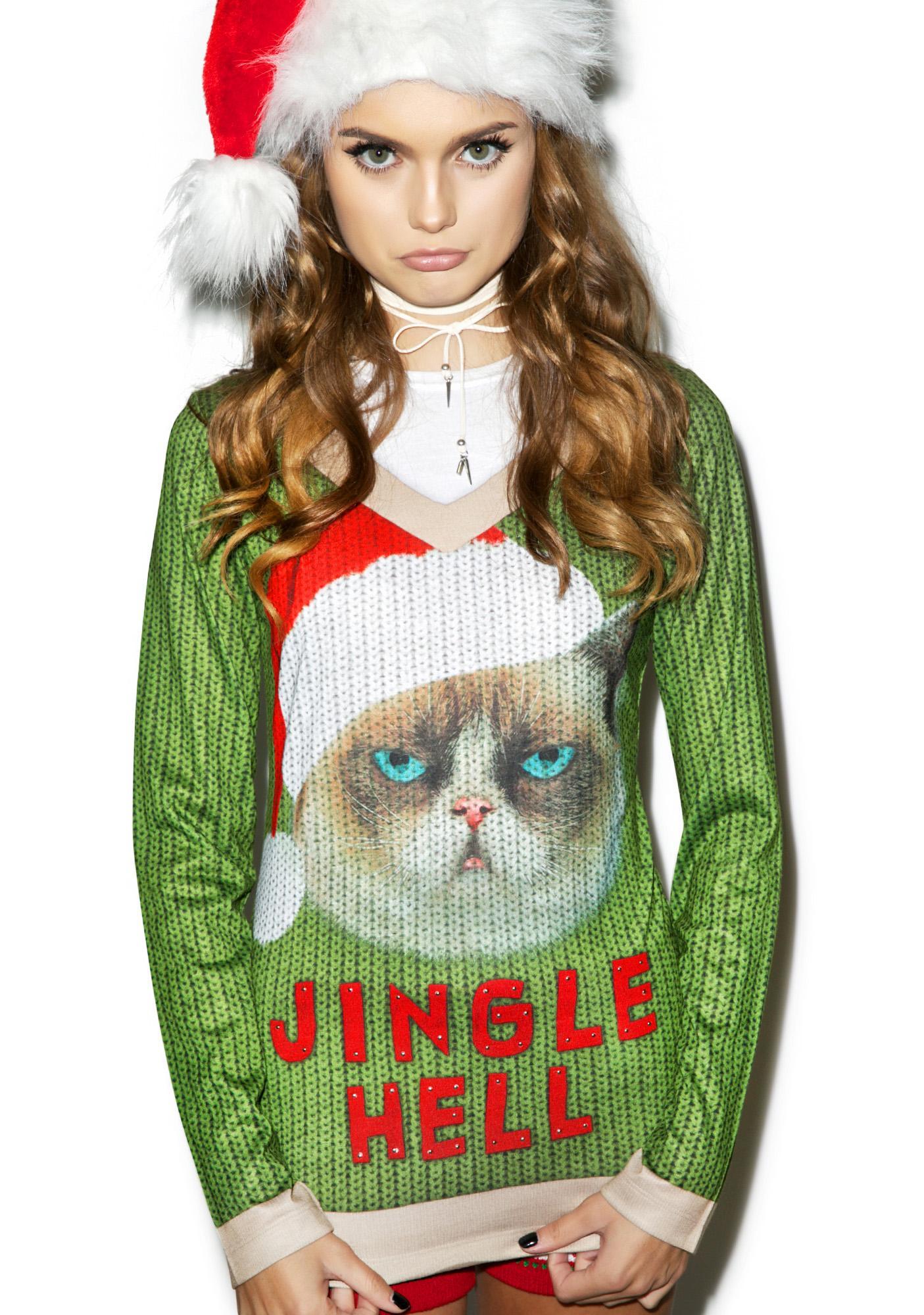 Jingle Hell Sweater Tee