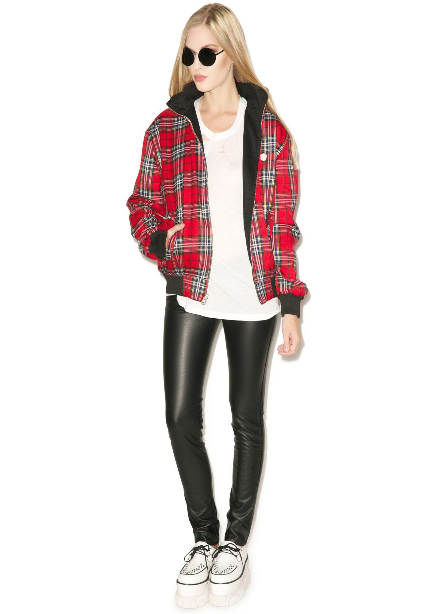 Long Clothing Harrington Jacket