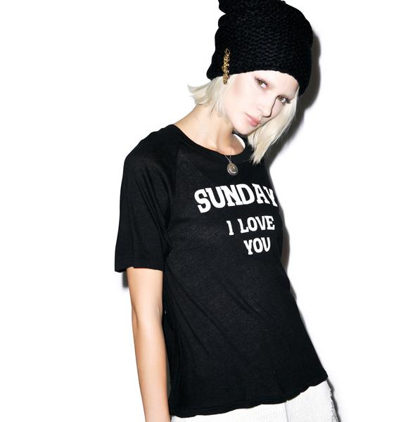 Wildfox Couture Dear Sunday Perfect Tee