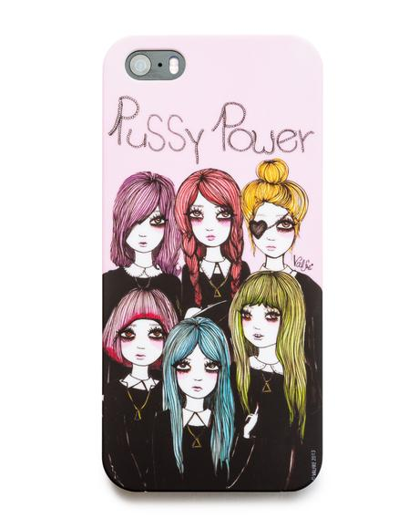 Pussy Power iPhone 5 Case