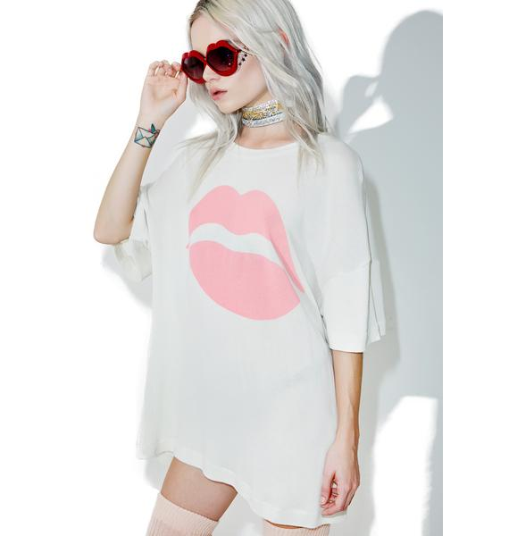Wildfox Couture First Kiss Sonic Tee
