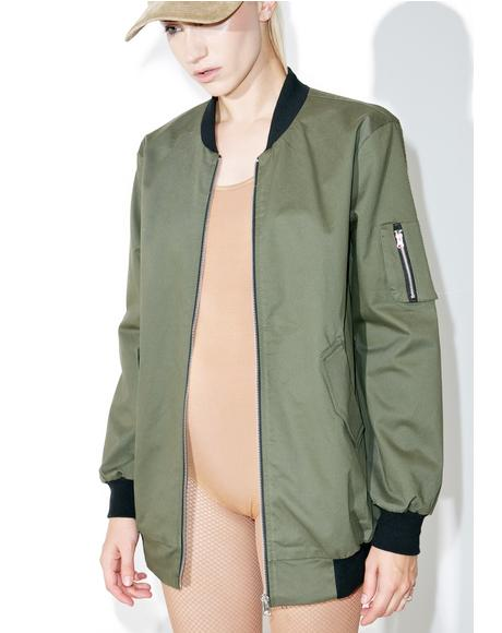 Command No Chance Bomber Jacket