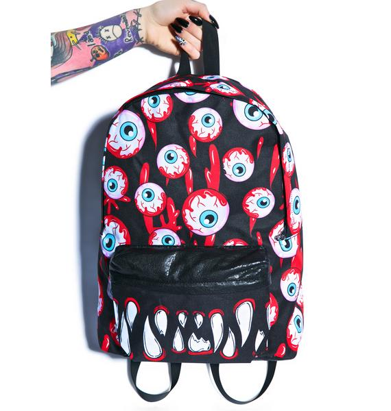 Iron Fist Blood Shot Backpack