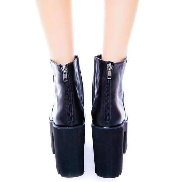 Windsor Smith Haven Double Stacked Bootie