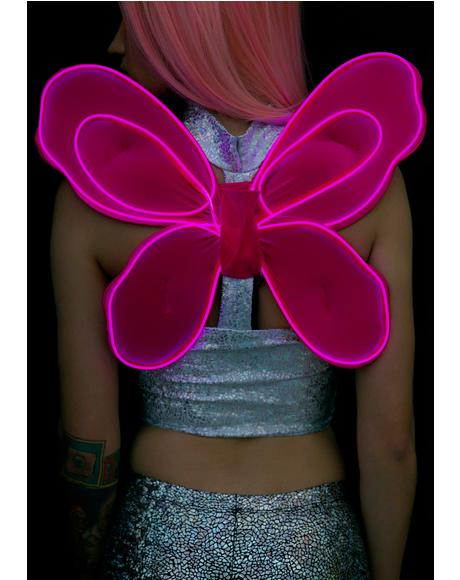 Pixie Fairy Light-Up Wings