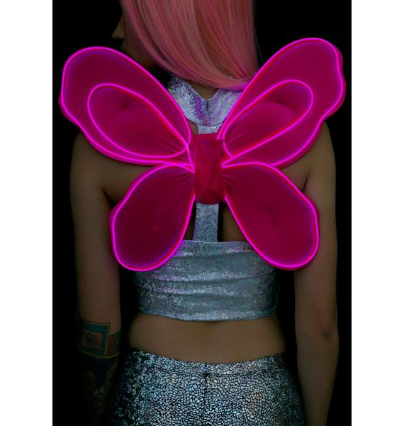 Electro Wings Pixie Fairy Light-Up Wings
